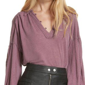 Free People Rush Hour Peasant Blouse